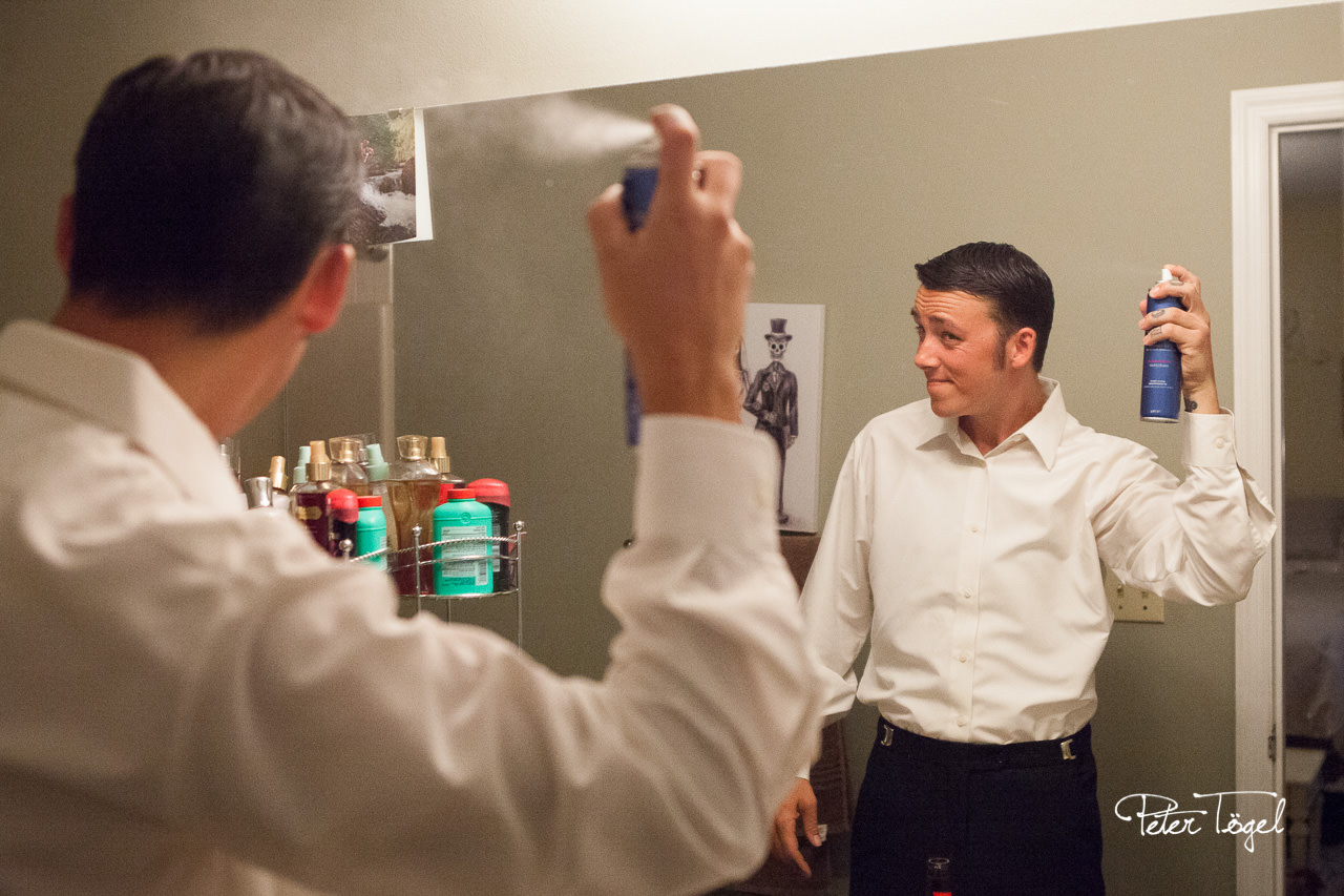 The Groom's Prep