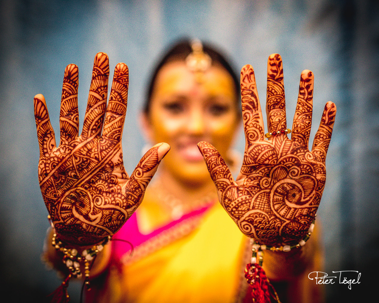 The Mehndi (Henna) celebration