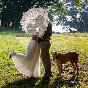 Intimate Farm Wedding with Ben and Catherine